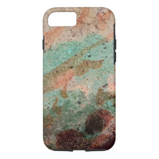Colorful Dyed Cement Abstract iPhone 7 Case