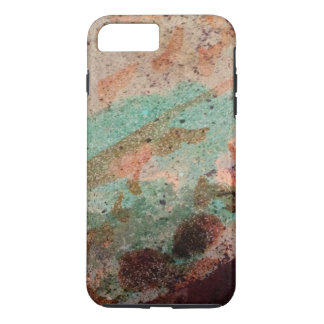 Colorful Dyed Cement Abstract iPhone 7 Plus Case