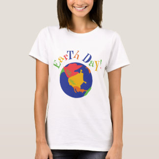 Colorful Earth Day T-Shirt