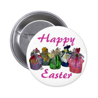 Colorful Easter Baskets Design Pins