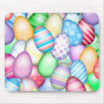 Colorful Easter Eggs Mousepad