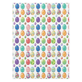 Colorful Easter Eggs Pattern Tablecloth