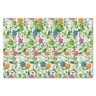 Colorful Easter Eggs Pattern Tissue Paper