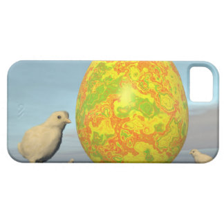 Colorful eggs for easter - 3D render Barely There iPhone 5 Case