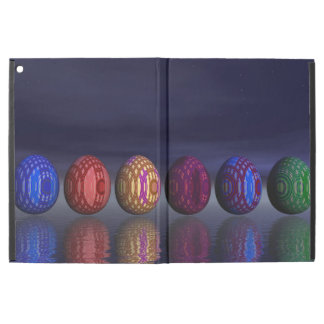 "Colorful eggs for easter - 3D render iPad Pro 12.9"" Case"