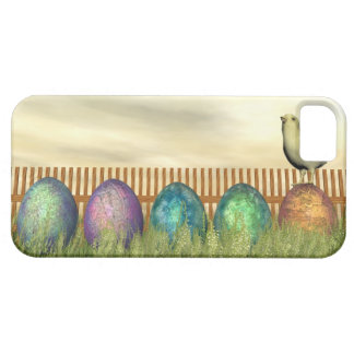 Colorful eggs for easter - 3D render iPhone 5 Covers