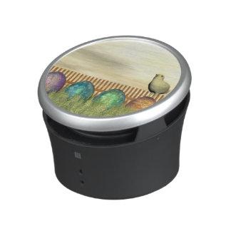 Colorful eggs for easter - 3D render Speaker