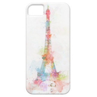 Colorful Eiffel Tower IPhone 5/5S Case