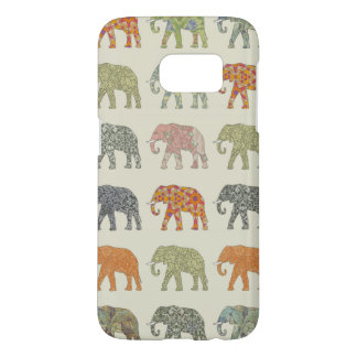 Colorful Elephant Designer Pattern