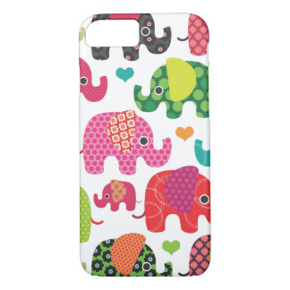 Colorful elephant kids pattern iPhone 7 case iPhon