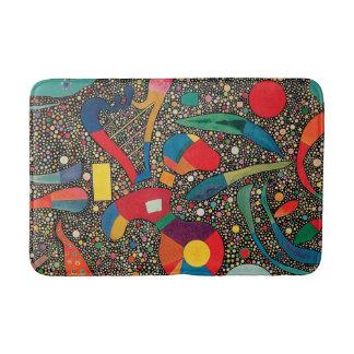 Colorful Ensemble by Wassily Kandinsky Bath Mat