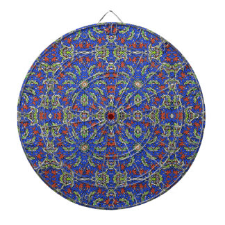 Colorful Ethnic Design Dartboard