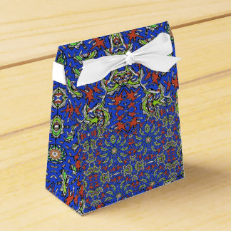 Colorful Ethnic Design Favour Box