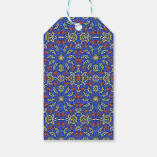 Colorful Ethnic Design Gift Tags