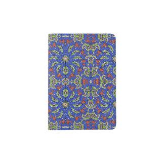 Colorful Ethnic Design Passport Holder