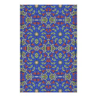 Colorful Ethnic Design Stationery