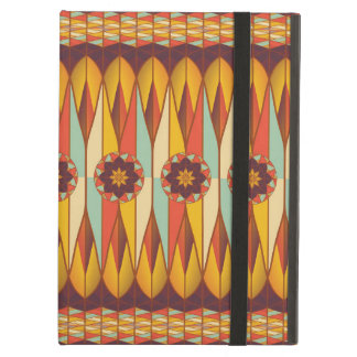 Colorful ethnic pattern cover for iPad air