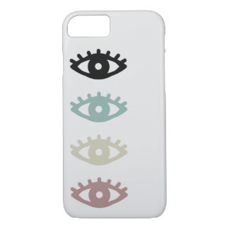 colorful eyes iPhone 8/7 case