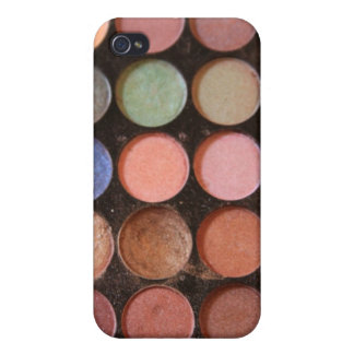 Colorful eyeshadows cases for iPhone 4
