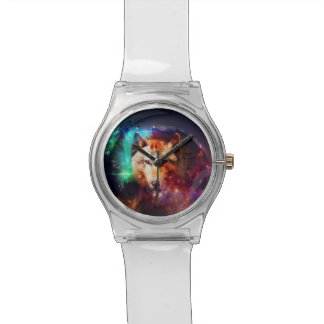Colorfulface wolf watch