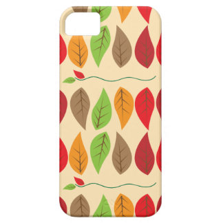 Colorful Fall Leaf Pattern Case For The iPhone 5