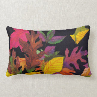 Colorful Fall Leaf Pillow Throw Cushions