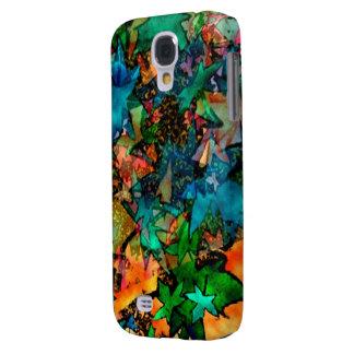 Colorful Fall Leaf Samsung Galaxy S4 case