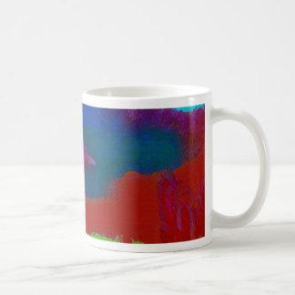 Colorful Fall Toned Abstract Horizon Sky Coffee Mug