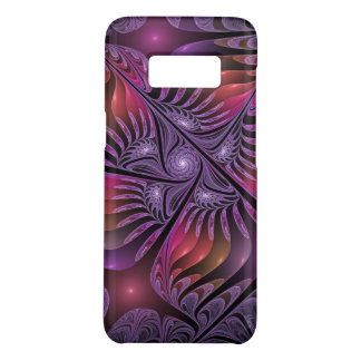 Colorful Fantasy Abstract Modern Purple Fractal Case-Mate Samsung Galaxy S8 Case