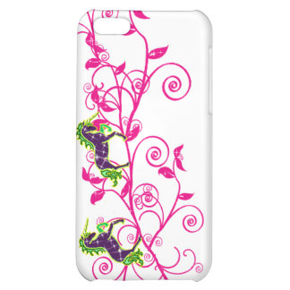 Colorful fantasy,unicorns cover for iPhone 5C