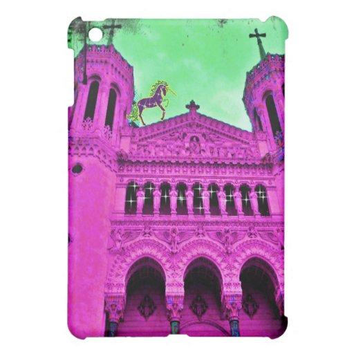 Colorful fantasy world iPad mini case