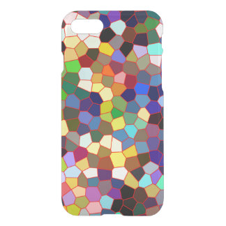 Colorful Faux Stained Glass Look iPhone 7 Case