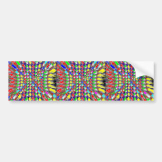 Colorful  Festival Birthday Return+Gifts Giveaway Bumper Sticker