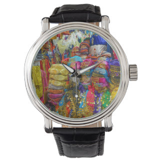 Colorful Fez Hats and Slippers Clothing Watch
