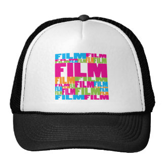 Colorful Film Hat
