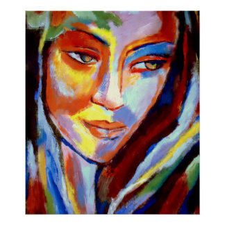 """Colorful Fine Art Prints - """"Immersed """" Poster"""