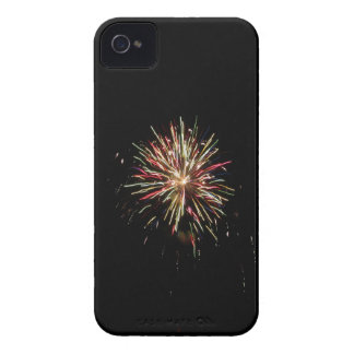 Colorful fireworks of various colors in the night iPhone 4 Case-Mate cases