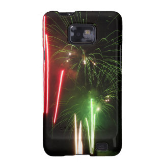 Colorful fireworks of various colors light up the galaxy s2 cases