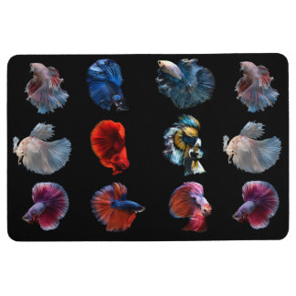 Colorful Fish floor mat