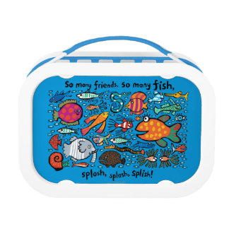 Colorful Fish Friends Lunchboxes