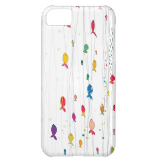 colorful fishies iPhone 5C case