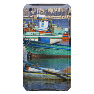 Colorful fishing boats in the Harbor of Barely There iPod Covers