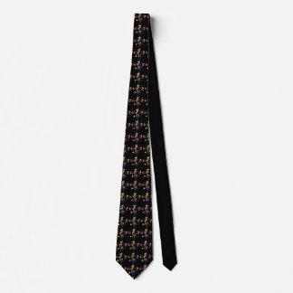 Colorful Fleur De Lis Tie