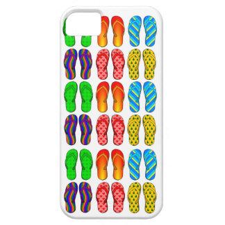 Colorful Flip Flops Fun Beach Theme iPhone 5 Case