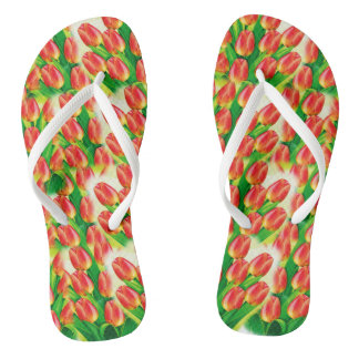 Colorful Flip Flops - Personalyze Photo and Text Thongs