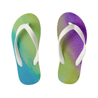 Colorful flip flops thongs