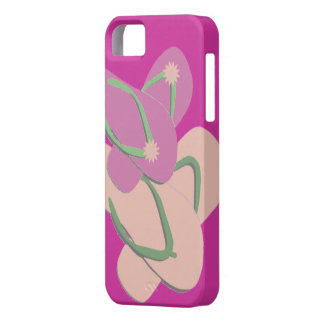 Colorful Flip Flops Vector Art iPhone 5 Case