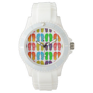 Colorful Flip Flops Watch