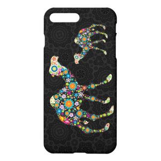 Colorful Floral Camel Illustration iPhone 8 Plus/7 Plus Case