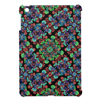 Colorful Floral Collage Pattern iPad Mini Cases
